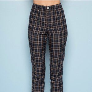 Brandy Melville Tilden Plaid Pants